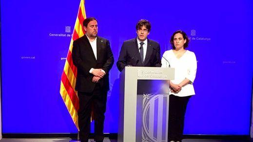 La Generalitat pide diálogo a Rajoy y al Rey y denuncia la