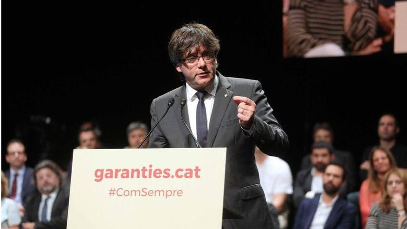 Las instrucciones de Puigdemont para acceder a webs sobre el referéndum del 1-O