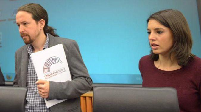 Pablo Iglesias, Irene Montero y el lío de las grabaciones de Inda