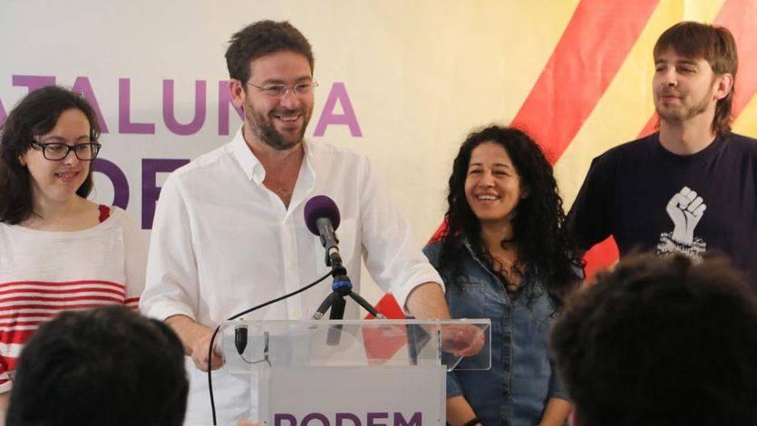 Las bases de Podem Catalunya apoyan la participación en la consulta independentista