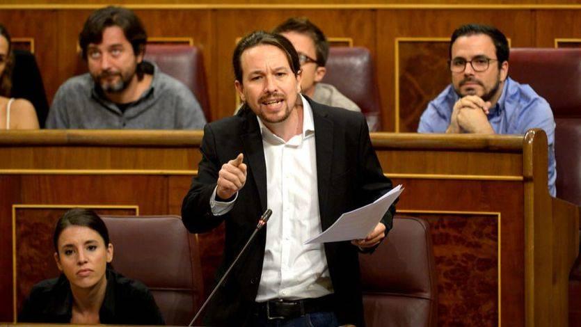 Pablo Iglesias critica que ya hay 'presos políticos' por el conflicto de Cataluña