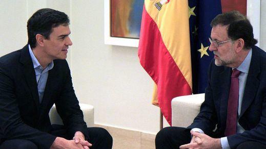 Sánchez, en su reunión discreta con Rajoy, le pidió