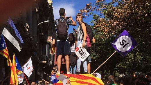 La Fiscalía denuncia como sedición los disturbios de Barcelona