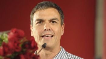 Sánchez asegura que obligará a Rajoy a dialogar una salida política para Cataluña