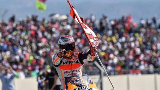 Fiesta española en el GP de Aragón, con Márquez mandando en la carrera y en el Mundial
