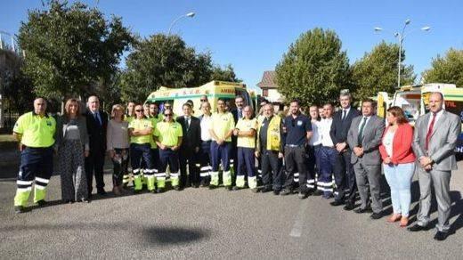 Toledo moderniza su flota de transporte sanitario terrestre