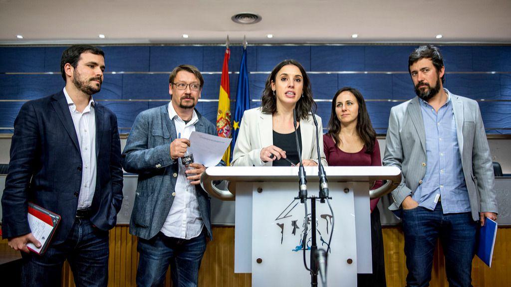 Unidos Podemos recurre ante el Tribunal Supremo la intervención del Gobierno central en Cataluña
