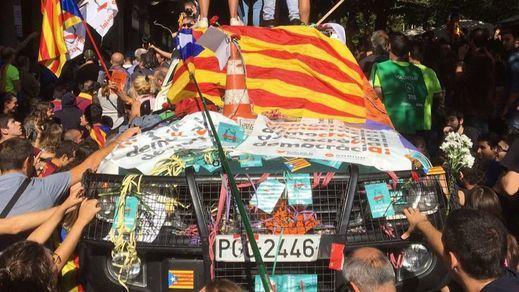 La Audiencia Nacional investigará si hubo sedición en los disturbios de Barcelona