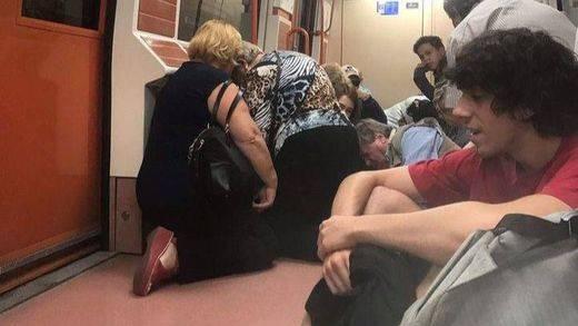 Pánico en el Metro de Madrid: dos detenidos por una pelea en un vagón