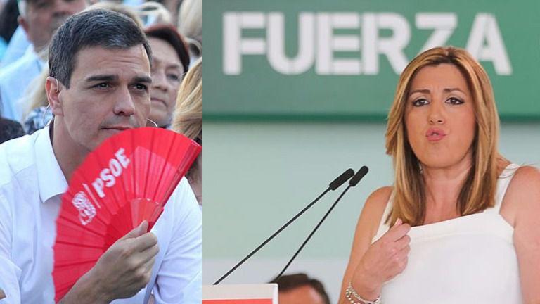 Susana Díaz se la vuelve a jugar a Pedro Sánchez