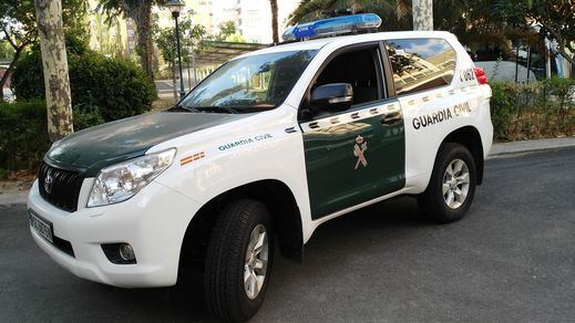 La Guardia Civil comprueba la suspensión de servicios informáticos para el 1-O