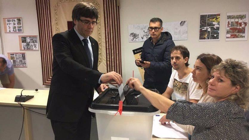El Govern dice que se han constituido el 96% de las mesas electorales pese a la 'violencia de Estado'