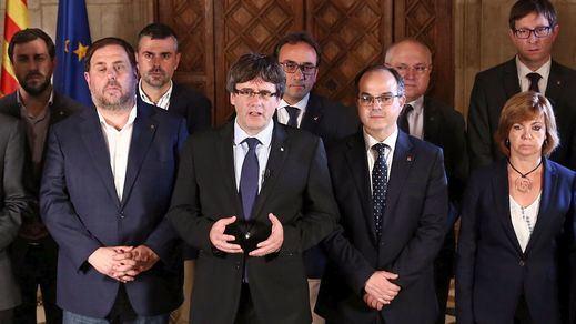 Puigdemont da por válido el referéndum e insinúa que el Parlament declarará la independencia con sus resultados