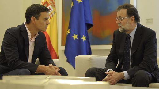 Sánchez evitó aclarar si el artículo 155 está sobre la mesa tras reunirse con Rajoy