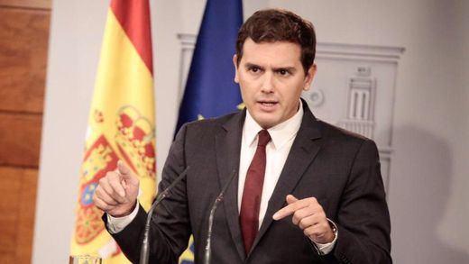 Rivera urge a Rajoy a poner en marcha el artículo 155 en Cataluña antes de 72 horas