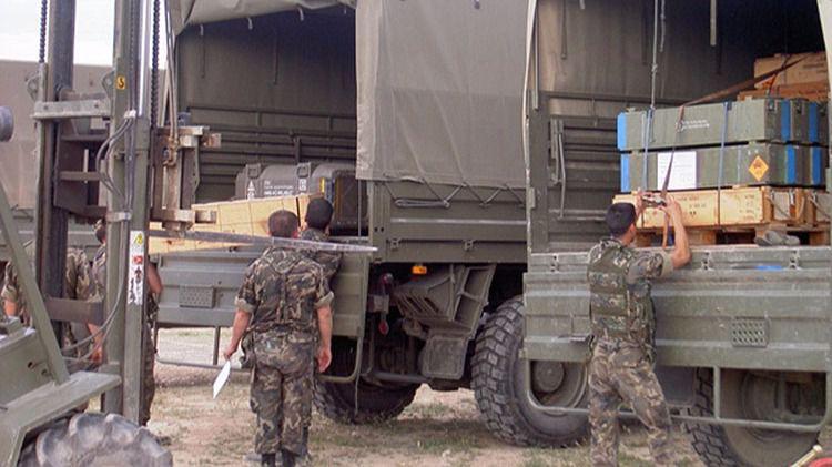 Vehículos de logística del Ejército de Tierra