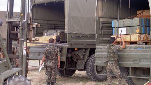 El Gobierno envía al Ejército para dar apoyo logístico a Policía Nacional y Guardia Civil en Cataluña