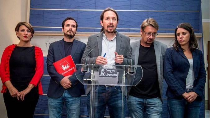 Iglesias rebaja su ofensiva contra el PP y pide una mesa de diálogo entre el Gobierno y la Generalitat