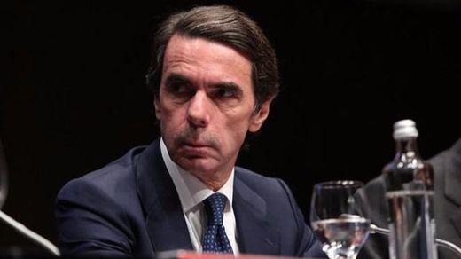 Aznar carga contra la inacción del Gobierno: reclama a Rajoy que aplique el 155 en Cataluña o que dimita