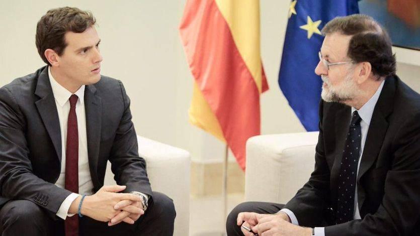 Rivera reclama a Rajoy aplicar el artículo 155 antes del lunes