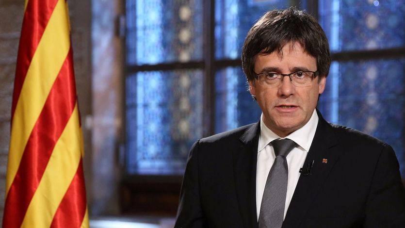 Otro paso atrás de la Generalitat: recortan una entrevista a Puigdemont donde se hablaba de la declaración de independencia