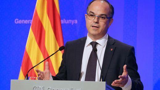 Rueda de prensa del Govern sin respuestas sobre la declaración de Puigdemont