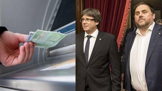 El riesgo de corralito es real y ya se están sacando 'cantidades extraordinarias' de Cataluña
