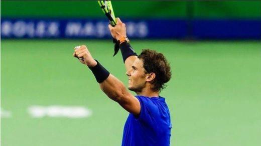 Nadal se cuela en semifinales tras derrotar a Dimitrov en Shanghái