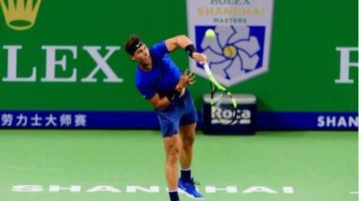 Nadal cae ante Federer en el Masters 1000 de Shanghái