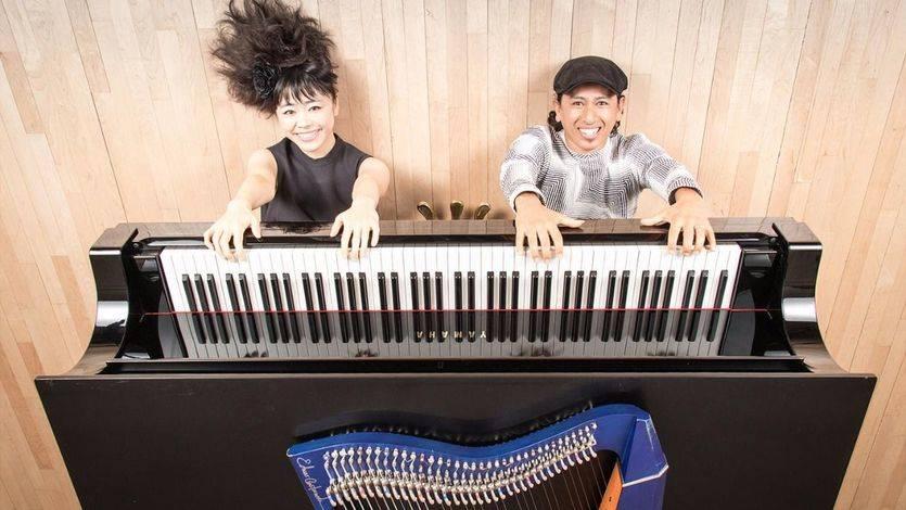 La pianista Hiromi y el arpista Edmar nos regalan el concierto más transgresor del año