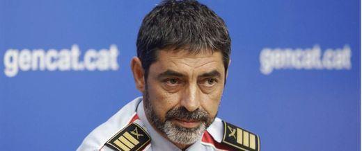 La Fiscalía pide prisión incondicional para Trapero, el mayor de los Mossos