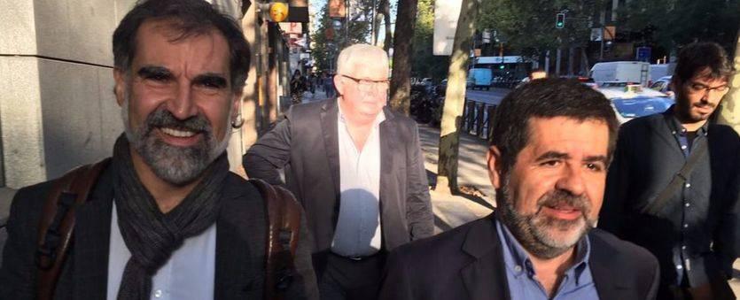 Los presidentes de la ANC y de Òmnium Cultural, a la cárcel por sedición