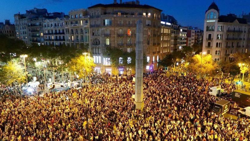 Unas 200.000 personas se concentraron en Barcelona para pedir libertad para los 'Jordis'