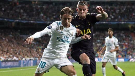 Los porteros forzaron el empate: Madrid y Tottenham firman tablas por el liderato de grupo (1-1)
