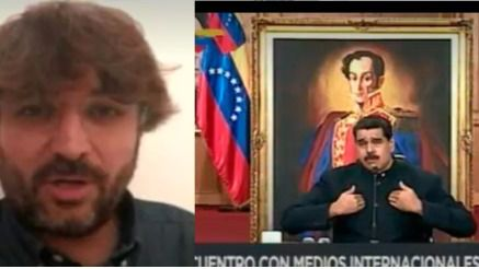 Maduro acusa a Rajoy de tener