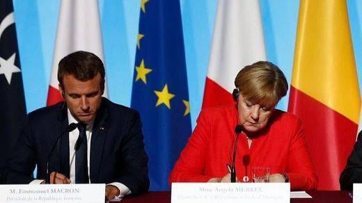 Alemania y Francia, los 'jefes' de Europa, exigen el final del movimiento independentista catalán