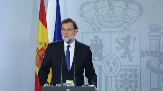El Gobierno propone cesar a Puigdemont y sus consellers y recortar las competencias del Parlament