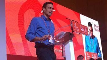 Sánchez apoya el 155 pero excusándose en las 'muchas discrepancias' entre PSOE y PP