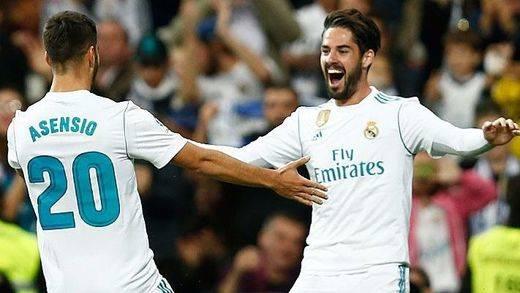 El Madrid más gris supera por fin el bache del Bernabéu (3-0)