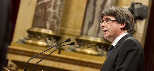 Desvelado el misterio: Puigdemont estará el jueves en el Senado