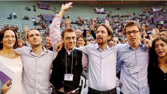 Núcleo fundador de Podemos