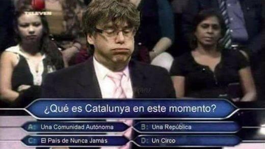 Los mejores memes sobre las 'idas y venidas' de Puigdemont