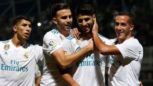 Copa del Rey: 2 penaltis permiten al Madrid sentenciar la ronda ante el Fuenlabrada