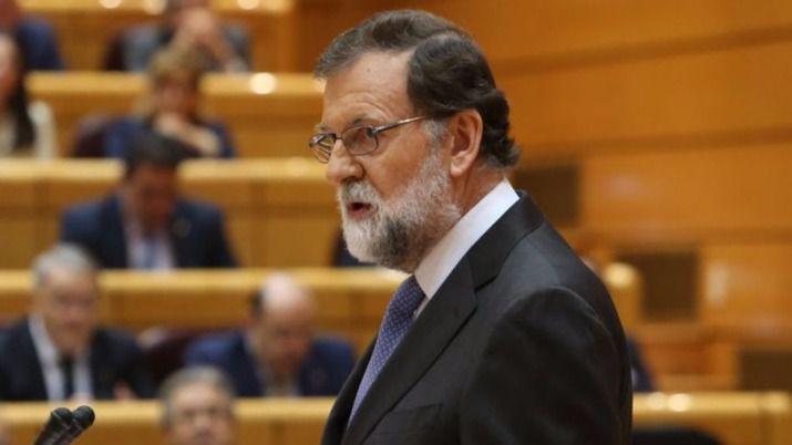Rajoy responsabiliza a Puigdemont de la intervención de Cataluña: 'Fue él quien eligió que el proceso del artículo 155 continuase, él solo'