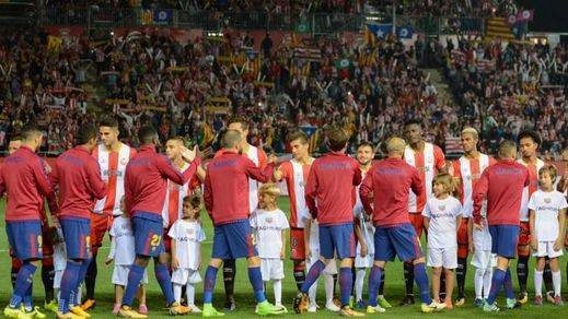 El partido Girona-Real Madrid sigue en pie, pese a la declaración de independencia