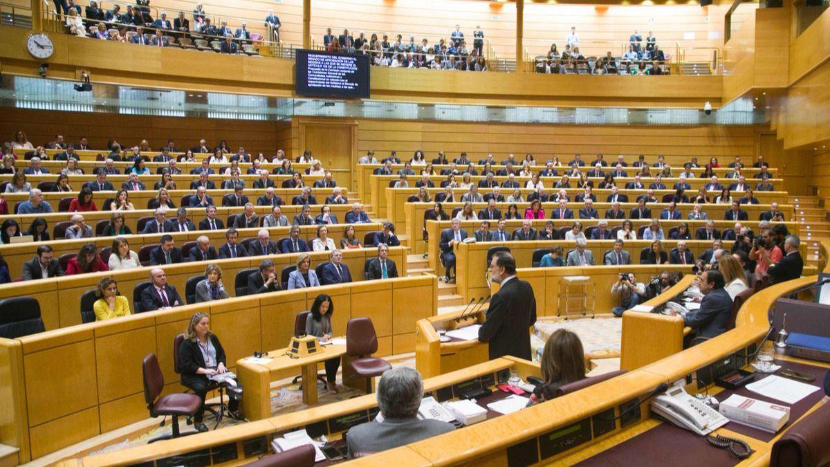 El Senado da luz verde a las medidas del Gobierno para poner en marcha el artículo 155