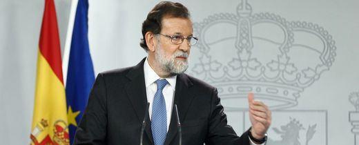 > La respuesta del Gobierno: cese de Puigdemont y elecciones el 21 de diciembre