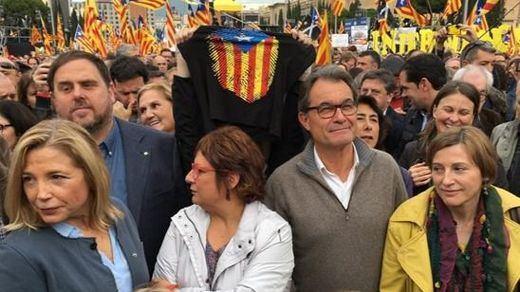 Este mismo lunes, Puigdemont y sus compañeros podrían ser encarcelados