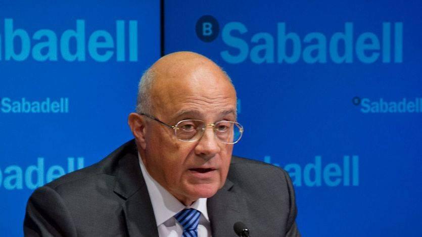 Josep Oliu, presidente del Banco Sabadell