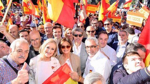Madrid acoge otra protesta masiva por la unidad de España